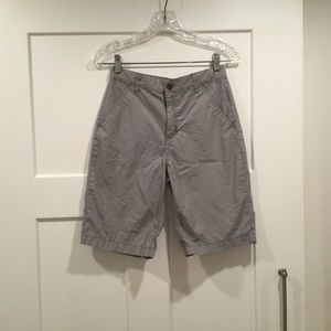 Boy's Light Gray Shorts